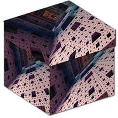 Industry Fractals Geometry Graphic Storage Stool 12