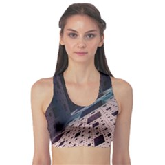 Industry Fractals Geometry Graphic Sports Bra