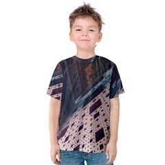 Industry Fractals Geometry Graphic Kids  Cotton Tee
