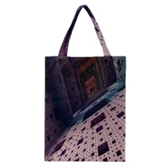 Industry Fractals Geometry Graphic Classic Tote Bag