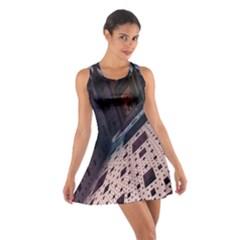 Industry Fractals Geometry Graphic Cotton Racerback Dress