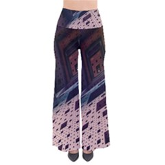 Industry Fractals Geometry Graphic Pants
