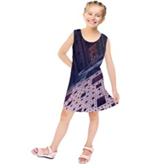 Industry Fractals Geometry Graphic Kids  Tunic Dress