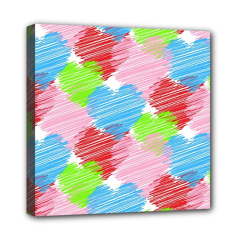 Holidays Occasions Valentine Mini Canvas 8  x 8