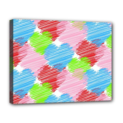 Holidays Occasions Valentine Canvas 14  x 11