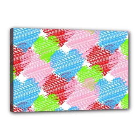 Holidays Occasions Valentine Canvas 18  x 12