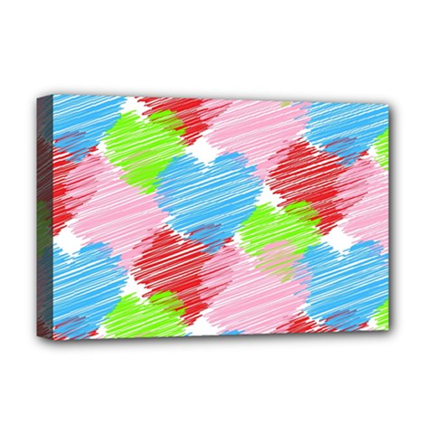 Holidays Occasions Valentine Deluxe Canvas 18  x 12