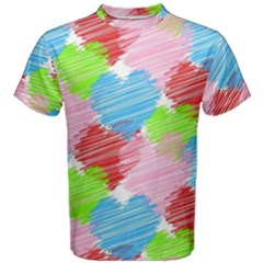 Holidays Occasions Valentine Men s Cotton Tee
