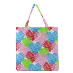 Holidays Occasions Valentine Grocery Tote Bag
