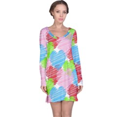 Holidays Occasions Valentine Long Sleeve Nightdress