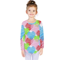 Holidays Occasions Valentine Kids  Long Sleeve Tee