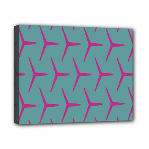 Pattern Background Structure Pink Canvas 10  x 8