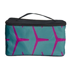 Pattern Background Structure Pink Cosmetic Storage Case