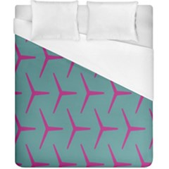 Pattern Background Structure Pink Duvet Cover (California King Size)