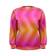 Pattern Background Pink Orange Women s Sweatshirt