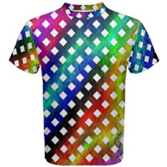 Pattern Template Shiny Men s Cotton Tee