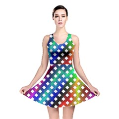 Pattern Template Shiny Reversible Skater Dress
