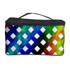 Pattern Template Shiny Cosmetic Storage Case