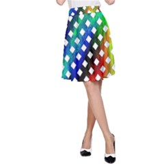 Pattern Template Shiny A-Line Skirt