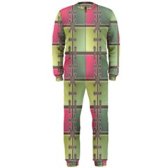 Seamless Pattern Seamless Design OnePiece Jumpsuit (Men)