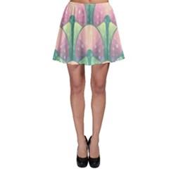 Seamless Pattern Seamless Design Skater Skirt