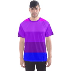 Transgender Flag Men s Sport Mesh Tee