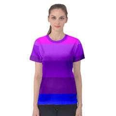 Transgender Flag Women s Sport Mesh Tee