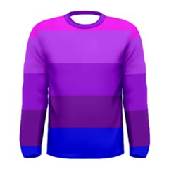 Transgender Flag Men s Long Sleeve Tee