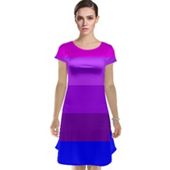 Transgender Flag Cap Sleeve Nightdress