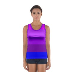 Transgender Flag Women s Sport Tank Top