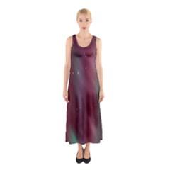 Stars Nebula Universe Artistic Sleeveless Maxi Dress