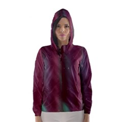 Stars Nebula Universe Artistic Hooded Wind Breaker (Women)