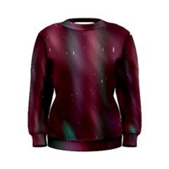Stars Nebula Universe Artistic Women s Sweatshirt