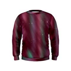 Stars Nebula Universe Artistic Kids  Sweatshirt