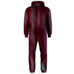 Stars Nebula Universe Artistic Hooded Jumpsuit (Men)