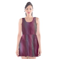 Stars Nebula Universe Artistic Scoop Neck Skater Dress