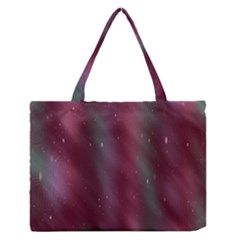 Stars Nebula Universe Artistic Medium Zipper Tote Bag