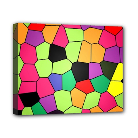 Stained Glass Abstract Background Canvas 10  x 8