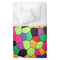 Stained Glass Abstract Background Duvet Cover (Single Size)