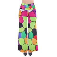 Stained Glass Abstract Background Pants