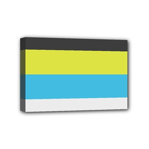 Bigender Flag Mini Canvas 6  x 4