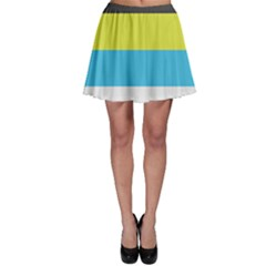 Bigender Flag Skater Skirt