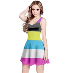 Bigender Flag Reversible Sleeveless Dress