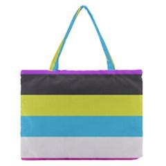 Bigender Flag Medium Zipper Tote Bag