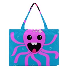 Bubble Octopus Medium Tote Bag