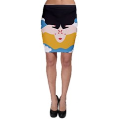 Close Your Eyes Bodycon Skirt