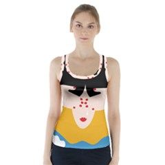 Close Your Eyes Racer Back Sports Top