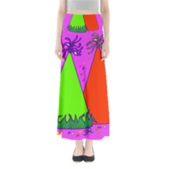 Birthday Hat Party Maxi Skirts