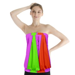 Birthday Hat Party Strapless Top