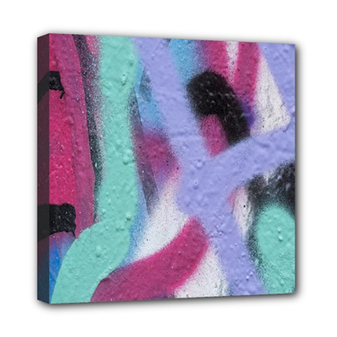 Texture Pattern Abstract Background Mini Canvas 8  x 8